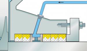 Den första DualPac®-versionen var typ 2211 - robust solid packning, som utvecklades speciellt för tätning av utrustning inom gruvindustrin. Denna packningsdesign visade sig vara mycket effektiv när det gäller att förbättra vanligtvis mycket kort livslängd och ge en kraftigt förlängd MTBR. Baserat på den framgången lyckades produktutvecklingsteamet på Chesterton utöka tekniken till ett bredare utbud av applikationer. Detta resulterade i utvecklingen av DualPac® 2212. DualPac® 2212 innehåller en meta-aramidfiberfläta på den dynamiska sidan av förpackningen. Detta material har höga hållfasthetsegenskaper, är mycket värme- och brännbeständigt med minimalt slitage av axeln/hylsan. Utsidan av packningen som sitter mot packboxens innerdiameter är gjord av para-aramid. Detta material har extremt hög hållfasthet och är mycket elastiskt. Denna fjädringsförmåga resulterar i ett konstant tryck på packningens tätningssida och förlänger därför intervallet mellan åtdragning av glanden och ökar packningens livslängd. På grund av packningens utformning är para-aramiden inte i kontakt med den roterande axeln vilket eliminerar axelslitaget som vanligtvis är förknippat med para-aramid.